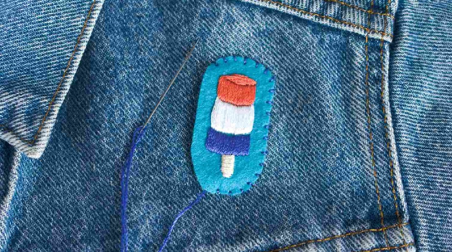 make iron on patches